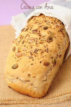 No hay nada como el pan hecho en casa....y mas ultimamente, que el pan se está desvirtuando a grandes pasos, cada vez ha...