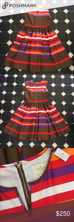 NWT! Kate Spade Kerrigan Party Dress, SZ 8! NWT! Kate Spade Kerrigan Party Dress in Play the Wild Card Print, SZ 8 (inner size tag fell out). This dress was worn in the TV show Heart if Dixie! Retail was $498! Open to offers! Perfect for Fall! kate spade Dresses Strapless