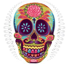 Day Of The Death by Jimmy Gleeson, via Behance