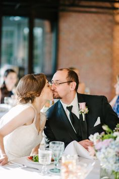 Gettin' some sugar at your wedding reception makes for super cute photos like this! Faith Teasley Photography