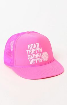 Rip Curl The Skinny Trucker Hat - Womens Hat - Pink - One cf13453cfc49