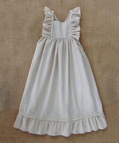 Sado Beige Earth Blend Maxi Dress - Infant, Toddler & Girls | zulily