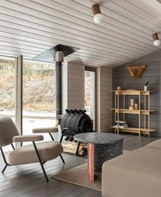HOME is an interior project initiated by architectural buro and furniture brand Delo Design. Local product designers collaborated to create an image of a modern Interior Styling, Interior Decorating, Interior Design, August Home, Home Reno, Log Homes, Small Apartments, Home Projects, Home Goods