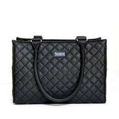I love this #quilted bag - looks like a chic work tote, but has an adjustable pocketing system. Designed for #camera equipment, but I'm sure I could find many other uses. $169.