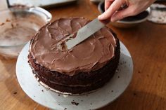 Chocolate Blackout Cake + How to Frost a Cake Video