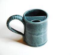 Hey, I found this really awesome Etsy listing at https://www.etsy.com/listing/182550082/mustache-clay-mugpottery-beer-steinlefty