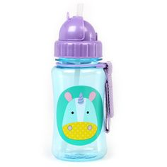 Skip Hop Zoo Straw Bottle- Unicorn