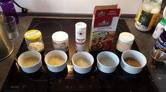 Her finder du en liste over forskellige produkter, du kan bruge til at skabe struktur i glutenfrit brød. De sammenlignes med mængder og egenskaber.