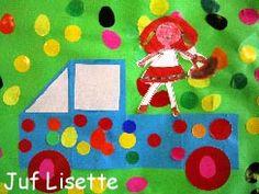 Carnavalswagen juf Lisette