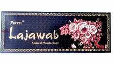 Forest Brand Presents Lajawab handmade Masala Agarbatti with rose fragrance. Lajawab incense sticks goes with its name and its aroma leaves you mesmerized. Incense Sticks, Fragrance, Presents, Packing, Box, Floral, Handmade, Gifts, Bag Packaging