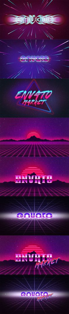 80's Logo Intro & Text Presets Pack made in After Effects Link: http://videohive.net/item/80s-logo-intro-text-presets-pack/15553764
