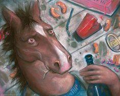 Uma exposição inspirada por BoJack Horseman | IdeaFixa