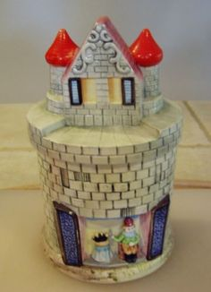 Vintage Cookie Jar Castle | eBay