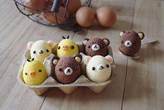 Rilakkumar chiffon cake eggs by Agnes iing (@agnes_chii)