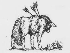 My end of the year tattoo.A wolf with arrows in his back because no matter how many times life hits me with arrows ill stand strong
