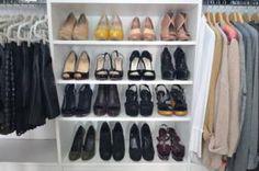 Walk in Closet Pictures - Foto's van Emily Schuman's Walk In Closet Deel 3 - Shoe opslag - Photo / Emily Schuman