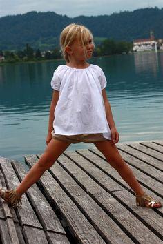 Simple girl summer style. Mini fashion