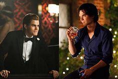 The Salvatore Brothers Triangle Love, The Salvatore Brothers, Damon And Stefan, Mystic Falls, The Brethren, Damon Salvatore, Best Series, Vampire Diaries The Originals, Delena