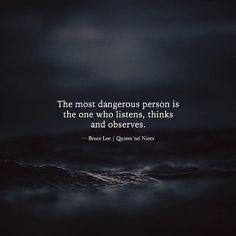 Sometimes, if you just listen you'll learn things you've never learned before.