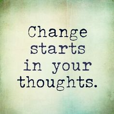 Transformation Tuesday starts with your Thoughts - Run Eat Repeat