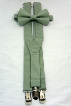 Your place to buy and sell all things handmade On Sale Sage Green Suspenders and Bow Tie Set. Sizes by JHPCouture Wedding Suits, Wedding Attire, Wedding Tuxedos, Wedding Bride, Wedding Dresses, Sage Green Wedding, Green Weddings, Romantic Weddings, Wedding Bouquets