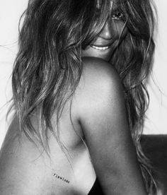 CR Fashion Book - EXCLUSIVE: BEYONCÉ INTRODUCES HER COLLECTION OF FLASH TATTOOS