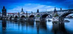 Popular on 500px : Prague Charles Bridge at Sunrise by MartyLunceford