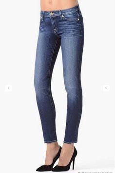 7 For All Mankind Heritage Glacier Bay - Jessimara Body Sculpting, Outerwear Women, Distressed Jeans, Fashion Boutique, Skinny, Female, Denim, Shopping, Clothes