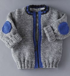 This Pin was discovered by Jud Baby Knitting Patterns, Baby Boy Knitting, Knitting For Kids, Knitting Designs, Baby Patterns, Crochet For Boys, Crochet Baby, Baby Coat, Baby Cardigan