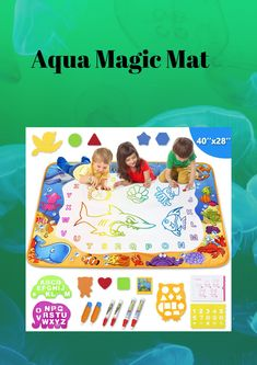 Aqua Magic Mat Kids For Girls For Boys 2020 Aqua, Magic, Toys, Girls, Activity Toys, Toddler Girls, Water, Daughters, Clearance Toys