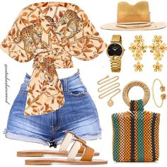 Play up the shorts! Cute Swag Outfits, Dope Outfits, Cute Summer Outfits, Classy Outfits, Stylish Outfits, Girl Outfits, Fashion Outfits, Fashion Killa, Look Fashion
