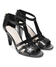 324113e40224 Take a look at this Black Cady II High Leather Sandal today!