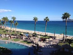 The view is beautiful today at #cabo #theLuxeLife