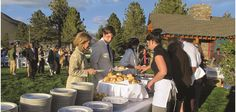 Wedding Catering by The Restaurant at Convict Lake!    The Restaurant at Convict Lake has been catering weddings, special occasions and events for over 20 years here in Mammoth Lakes, CA.  Private house parties, remote locations, groups from 10 to 500.  Our talented Chefs and experienced serving staff are at your service!     We offer catering on and off-premise as well as party and equipment rentals and have catered wedding receptions at many unique mountain venues in the Eastern Sierra. Catering Menu, Wedding Catering, Wedding Receptions, Mammoth Lakes California, Sample Menu, House Party, 20 Years, Chefs, Event Planning