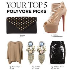 """Your Top 5 Polyvore Picks"" by polyvore-editorial ❤ liked on Polyvore"