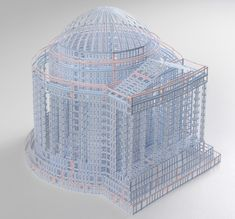 jill sylvia: intricately cut ledger paper structures