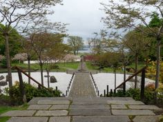 The Edinburgh – Kyoto Friendship Garden is within the grounds of Lauriston Castle.