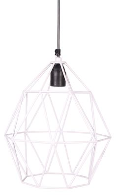 Wire Hanglamp White