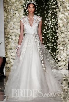 Fall 2015 Wedding Dresses A princess like gown from
