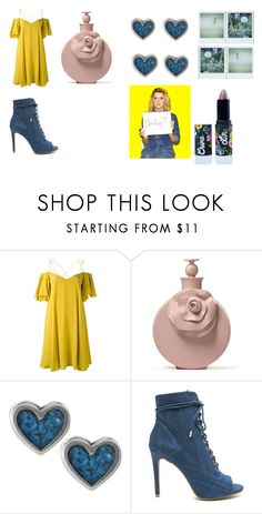 """""""dfuk"""" by briar-valiant on Polyvore featuring Essentiel, Journee Collection, Lime Crime and Polaroid"""