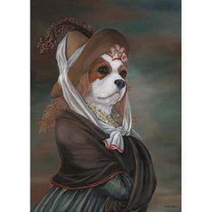 Cavalier King Charles Spaniel Prints Olivia Royale Blenheim