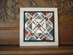 Miniature Quilts and more: Framing Day
