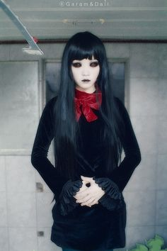 Cosplay hell girl super scary cosplay pinterest hell girl