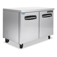 Nor-Lake AdvantEDGE NLUR48 Undercounter Refrigerator with Worktable To
