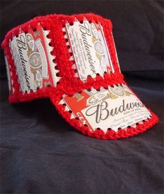 BEER CAN CROCHETED HAT PATTERN