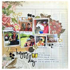Layout: happy day