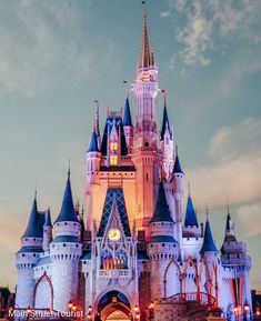 Did you know that Cinderella Castle in Walt Disney World is 100 feet taller than. Did you know tha Disney World Castle, Disneyland Princess, Disney Princess Cinderella, Cinderella Castle, Tokyo Disneyland, Disney Castles, Walt Disney World Orlando, Disney World Florida, Disney World Vacation