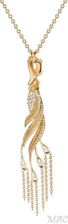 Carrera y Carrera Seda Collection Garzas necklace
