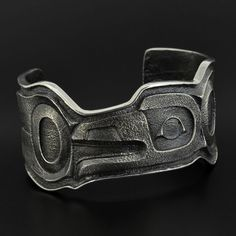 Raven - Silver Bracelet