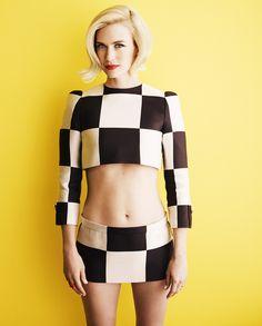bohemea:  January Jones - Glamour UK by Simon Emmett, April 2013